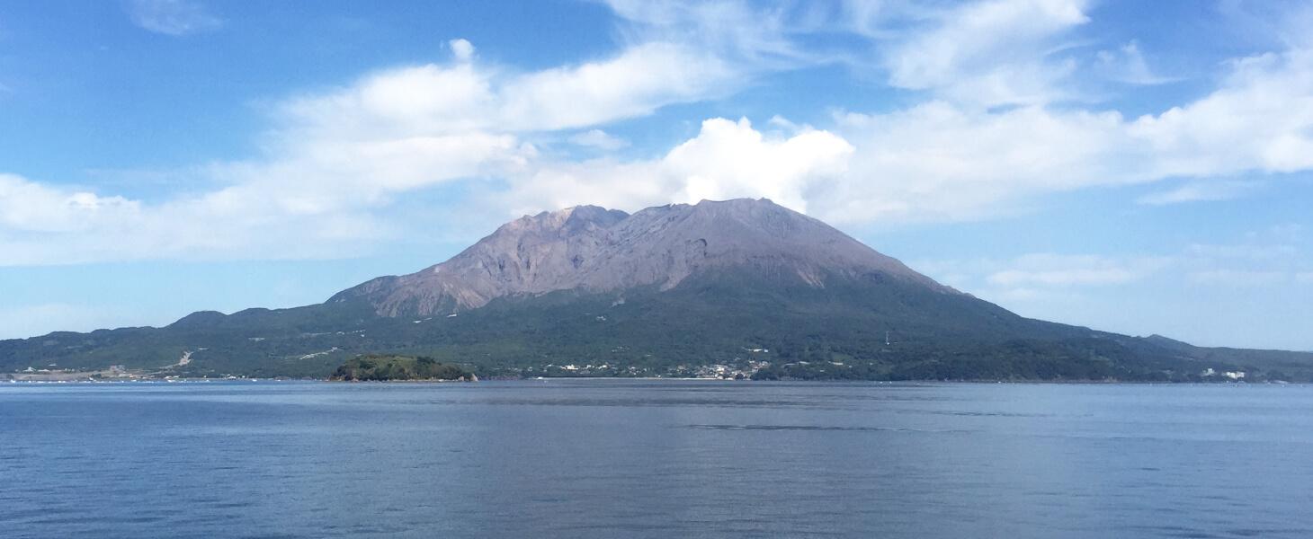 鹿児島、桜島